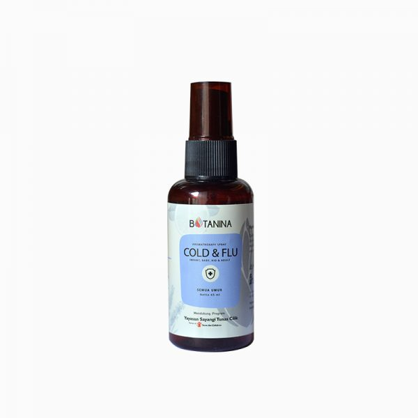 Cold and Flu Aromatherapy Spray – Infant